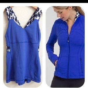 Define Lululemon jacket and matching tank size 6